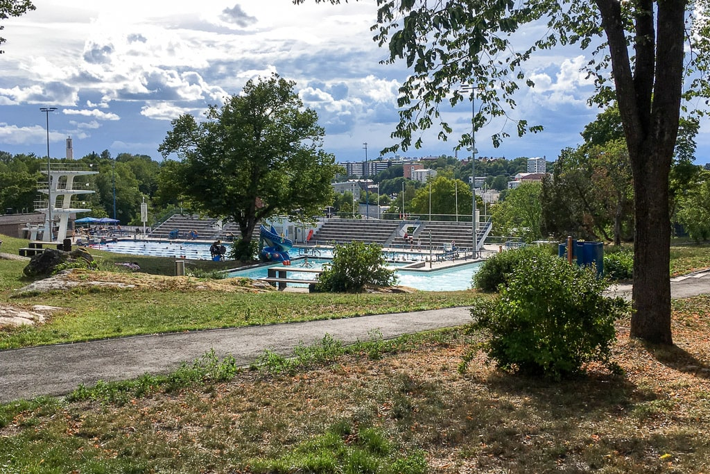 Samppalinna Swimming Pool Turku